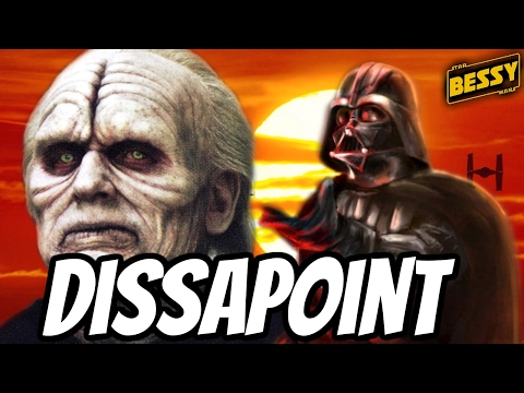 Did Darth Vader Disappoint his Master Sidious(Canon) - Explain Star Wars (BessY)