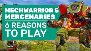 6 Ways MechWarrior 5 Mercenaries Is Our Dream Mech Game | MechWarrior 5 Review (PC)
