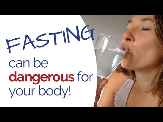 Fasting - What nobody's talking about… Some types of fasting are toxic for our body