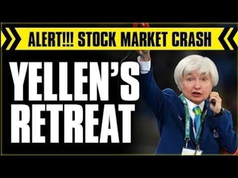STOCK MARKET ALERT !!! YELLEN'S RETREAT ( JULY 21,2017 )