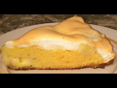 Творожный пирог с бананами кулинарный рецепт