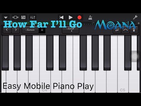 How Far I'll Go - Piano Tutorial - Moana - Basic