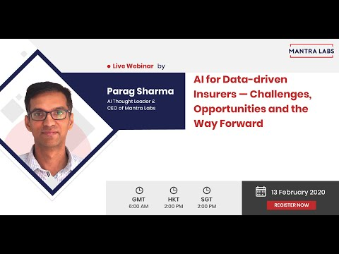 Reap the maximum out of AI for your insurance business process.[Webinar]