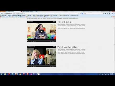 Adobe Contribute : Working with Video