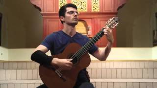 "John Oeth performs ""Homenaje pour le Tombeau de Claude Debussy"" by Manuel de Falla"