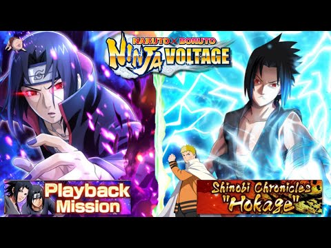 "[NxB] Play-through Of Playback Mission And Shinobi Chronicles ""Hokage"" Mission"