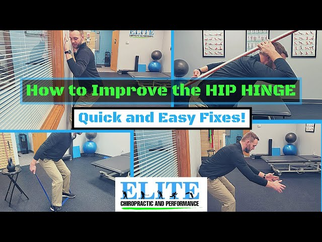 How to Improve Hip Hinge Technique | Chesterfield Chiropractor