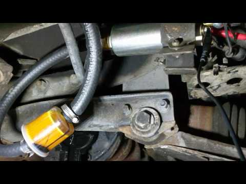 1976 Datsun 280Z Start Up Woes - YouTube