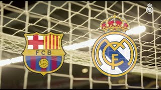 EL CLÁSICO | Barcelona vs Real Madrid warm-up LIVE