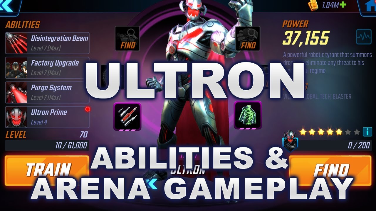 MSF) Ultron guide & arena gameplay : LightTube