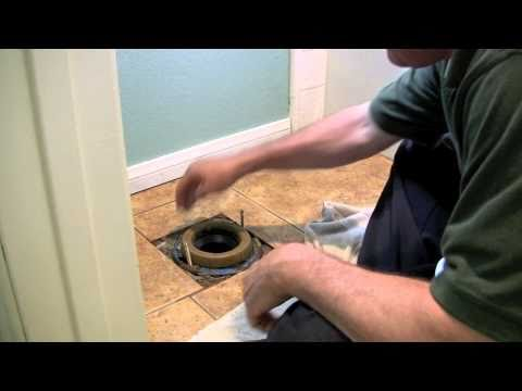 How To Install A New Or Used Toilet - www.SanDiegoHomeInspectionBlog.com