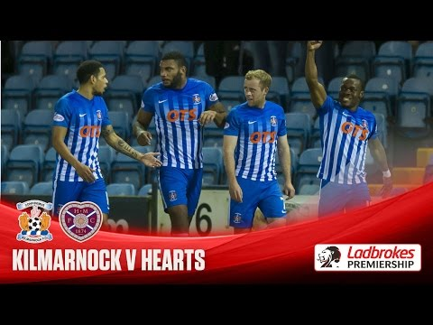 Two stunning goals give Killie win over Hearts