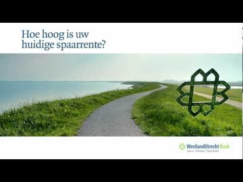 Sparen bij de Westland Utrecht Bank via Helderhypotheek.nl