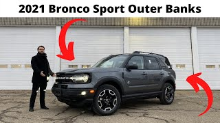 2021 Bronco Sport Outer Banks Package - All New Bronco! In Carbonized Grey!