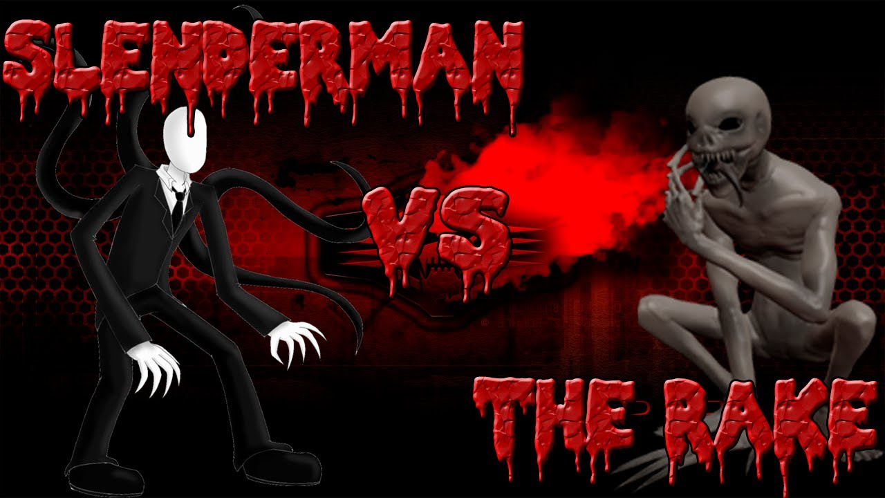 Creepypasta Slenderman x Jeff Creepypasta Slenderman vs The