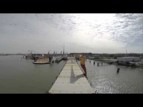 m/v Hollandia Rotterdam Maasvlakte to Pernis