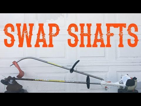 How To Replace A Straight Or Curved Trimmer Shaft - Video