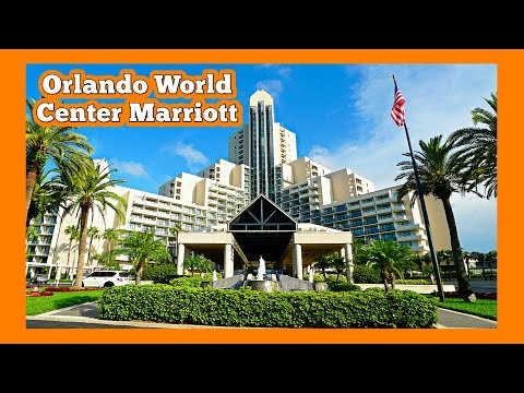 Orlando World Center Hotel By Marriott | Near Walt Disney World (Hotel Tour And Review)
