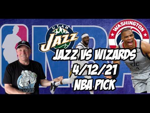 Utah Jazz vs Washington Wizards 4/12/21 Free NBA Pick and Prediction NBA Betting Tips