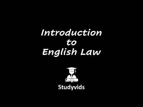 N0701A Introduction to English Law
