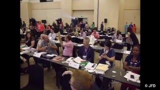 WFD世界会議動画アルバム:7月27日 世界ろう連盟評議員会