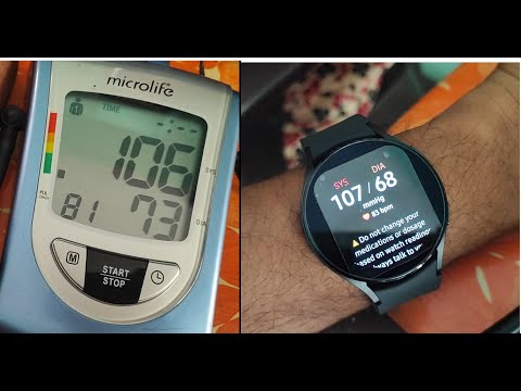 How accurate is Blood Pressure monitor in Samsung Galaxy Watch 4