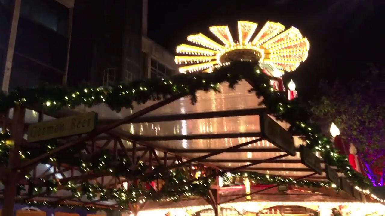 Birmingham Christmas Lights.Christmas Lights At Frankfurt Christmas Markets 2018 Birmingham England Christmas Birmingham
