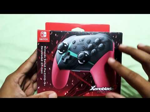 [開箱Pro手把] Nintendo Switch PRO手把 十字鍵有災情,好險我買異度神劍2版,另有Joy-con和PS4手把比較心得喔。 - YouTube
