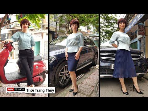 Áo váy công sở | Hậu trường tạo dáng chụp ảnh Thời Trang Thủy