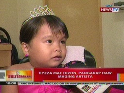 BT: Little Miss Philippines 2012 na si   Ryzza Mae Dizon, ki
