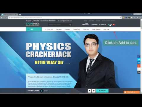 How to Buy Etoosindia Video Lectures