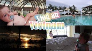 Piscine, plage et coucher de soleil ♥ [Family VLOG au Vietnam j21 - Phu Quoc]