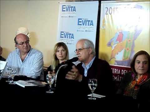 """Taiana reflexiona sobre """"Resistencia y militancia peronista"""" en el Museo Evita"""