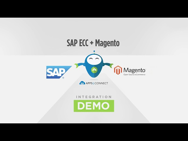 Integrate SAP ERP with Magento | APPSeCONNECT
