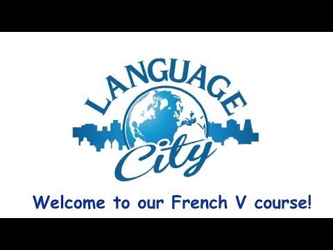 French V @ Language city