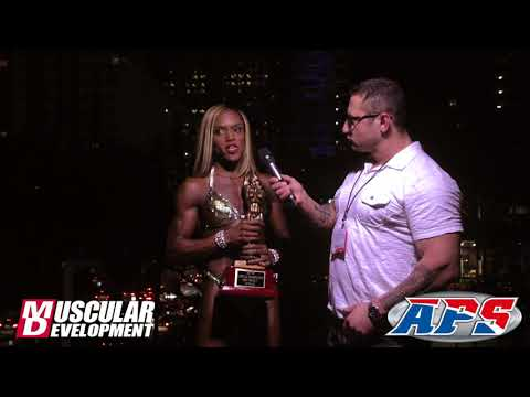 Martina Harris Figure Overall Champ  NPC Nationals