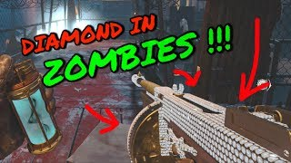 DIAMOND AND GOLD IN ZOMBIES! Black Ops 4 Zombies camo glitch (NEW)