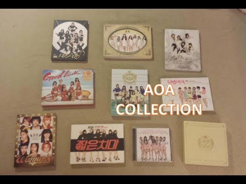 MY AOA (ACE OF ANGELS) KPOP ALBUM COLLECTION