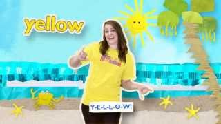 The YELLOW Song | HeidiSongs' Sing & Spell Colors!