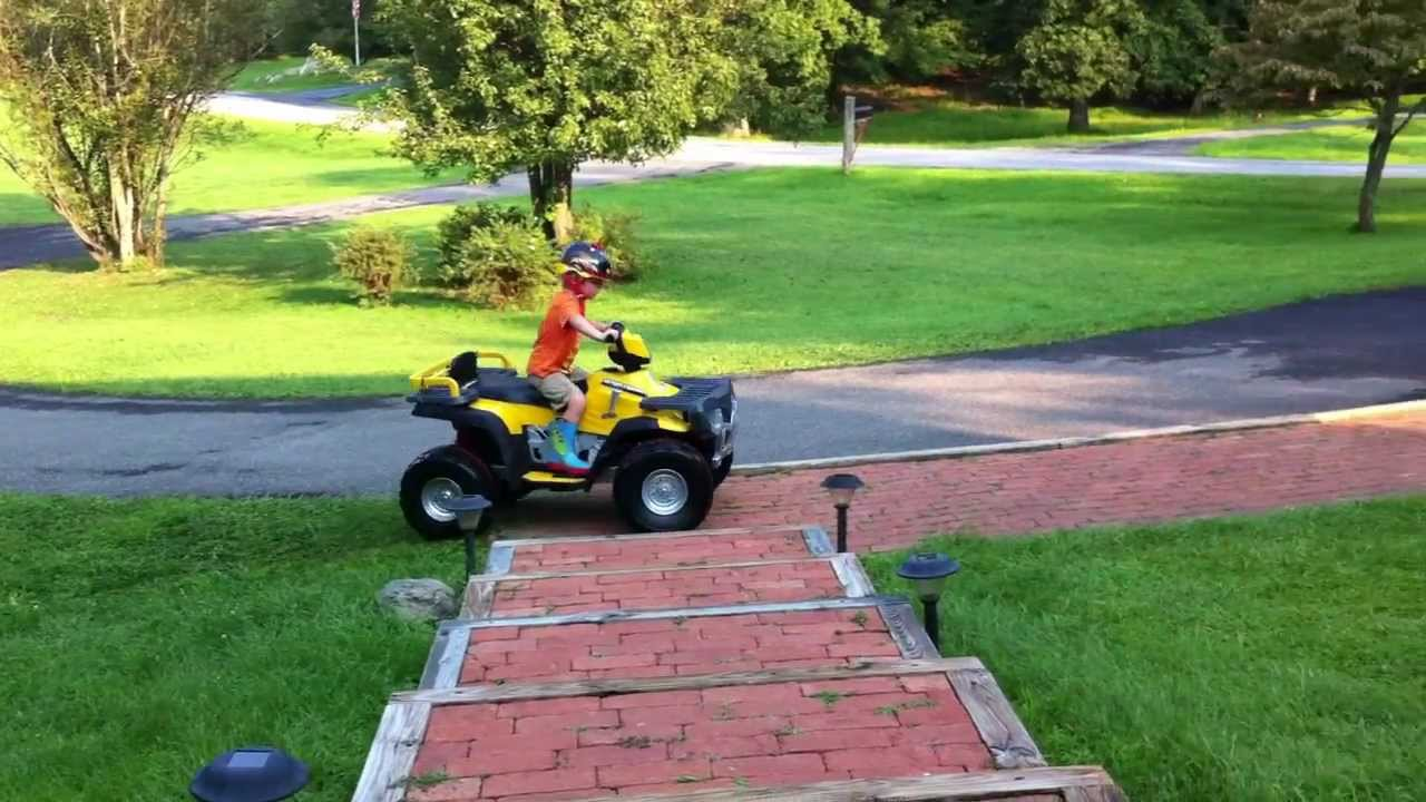 Ride it like you stole it 24 volt peg perego polaris xp850 atv ride it like you stole it 24 volt peg perego polaris xp850 atv youtube publicscrutiny Images