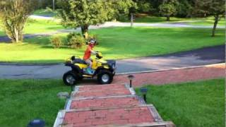 Ride It Like You Stole It 24 Volt Peg Perego Polaris XP850 ATV