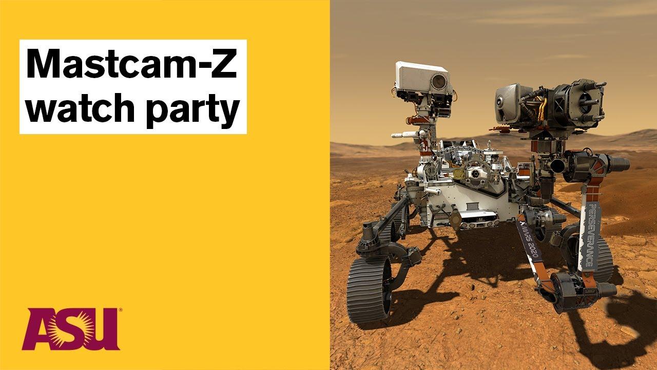 NASA Mars 2020 Mission Landing