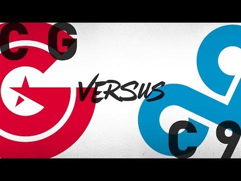 CG vs. C9 - Week 1 Day 1 | NA LCS Summer Split | Clutch Gaming vs. Cloud9 (2018)