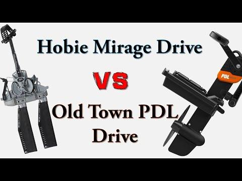 Hobie Mirage Drive Vs Old Town PDL