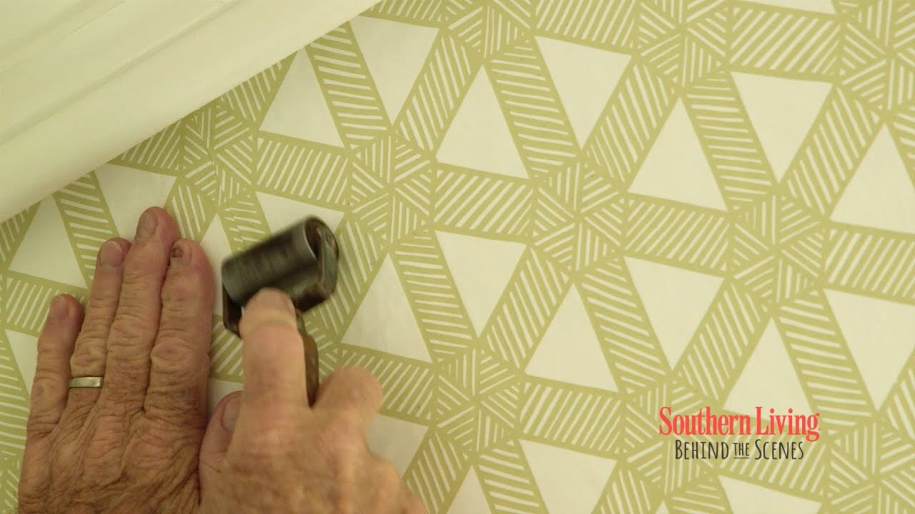 Behind the Scenes at the 2016 Idea House: Wallpaper - YouTube