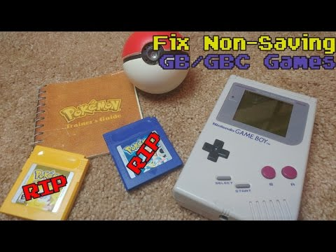 So Your Pokemon Game Doesn't Save? How To Change Gameboy Battery