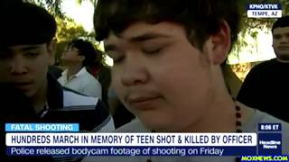 Video Shows Cop Shoot 14 Year Old With A Toy Gun Running Away In The Back Killing Him!