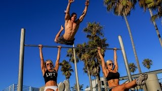9 Year Old BEAST + Girl Does 5  Muscle Ups  | #CalAesthetics