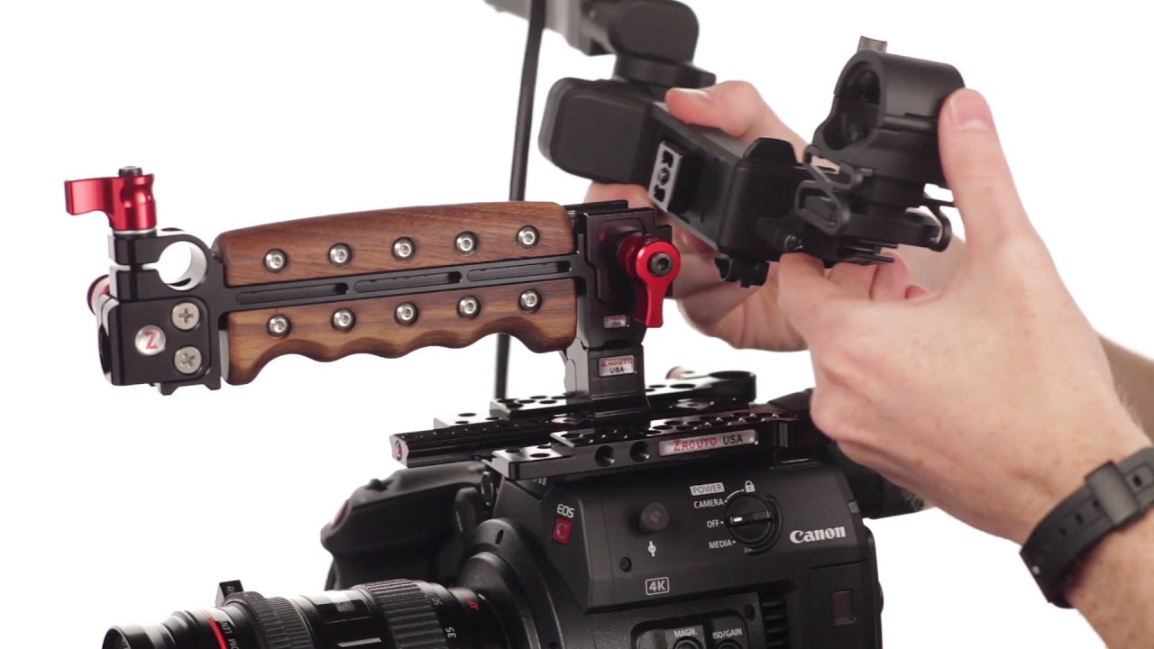 Canon C200 Balanced Shoulder Rigs and Accessories from Zacuto