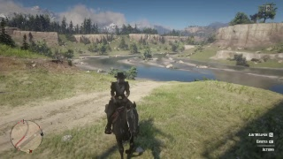 Red Dead  Redemption 2 Moseying Game Play